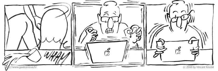 Geeks In Love, Occupational Hazard #2, by Vincent Knobil.
