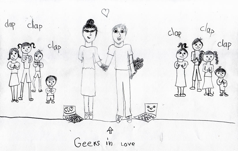 The Geeks by Guest Blogger Noémi (9 years old).