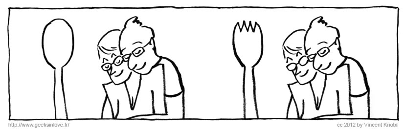 Spork, by Vincent Knobil.
